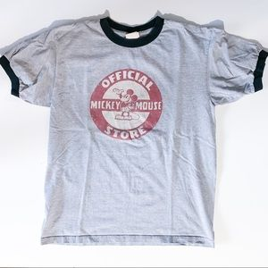 Mickey Mouse Disney store tee Vintage unisex Med